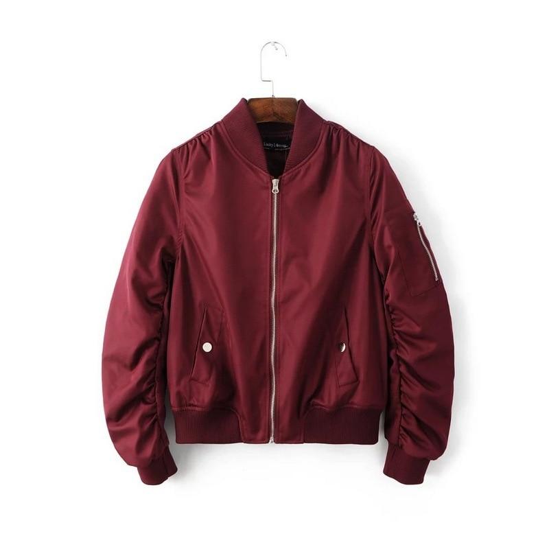 HTB1Tik.aJjvK1RjSspiq6AEqXXaP Bella Philosophy autumn winter quilting bomber jacket women coat zipper long sleeve winter jacket cotton-padded pink outwears