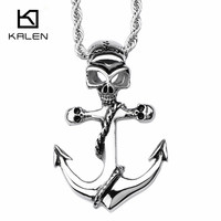 2016 25 OFF Low Price Stainless Steel Skeleton Cross Necklace For Men Fast Free Shipping