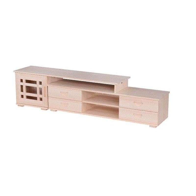 Tele Support Ecran Ordinateur Bureau Wood Entertainment Center Shabby Chic Wooden Table Mueble Meuble Monitor Stand TV Cabinet