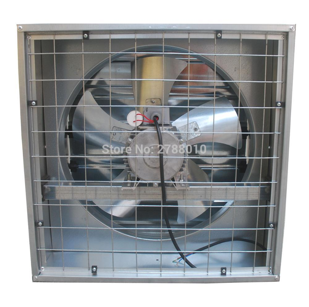 Puissant ventilateur d'échappement de ferme Machine d'extraction industrielle fil de cuivre moteur ventilateur d'échappement FB-380