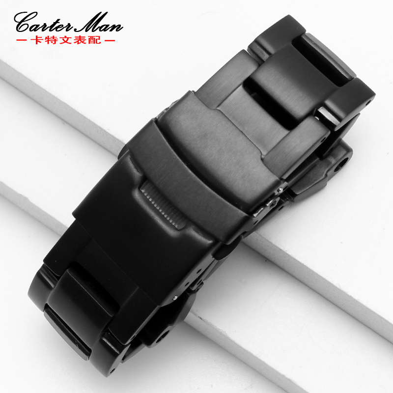 New High quality watchband for G-shock GW-A1100 GW-A1000 stainless steel watch strap with tools