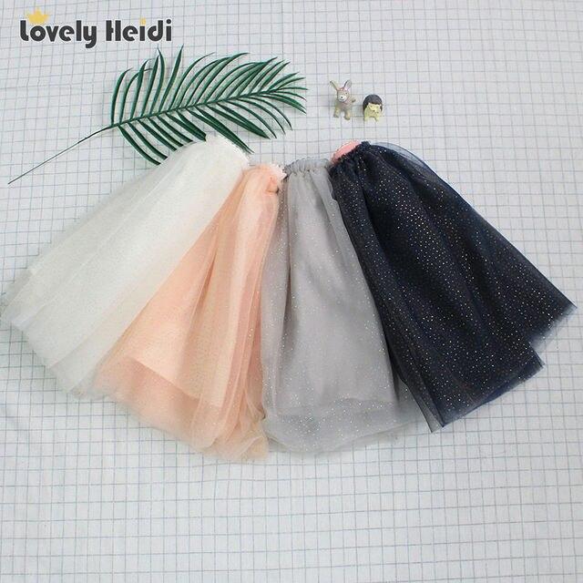 Новая мода дети звезда пачки девушка юбки детская одежда пушистый мягкий тюль симпатичные девочки юбки 4 цвета лета 2017