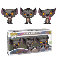 Lion King Figures 3 Pack Original Limited Edition Hyenas Banzai Shenzi Ed Lovely Toys for Children