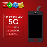 Best Quality Without Dead Pixels Spots For Apple IPhone 5C LCD Display Touch Screen Digitizer Replacement