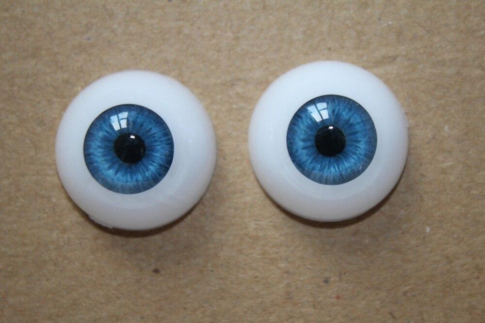 GoodQuality thin Pink Iris Glass 22MM BJD Eyes for Reborn//NewBorn BJD Doll