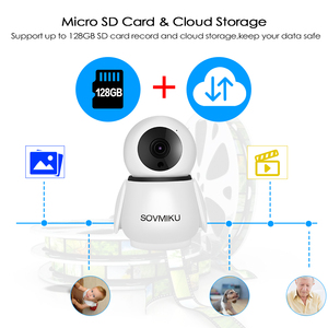 Image 5 - 1080P אלחוטי WIFI מצלמה אינפרא אדום אבטחת בית שני דרך אינטרקום HD IP מצלמה תינוק צג אוטומטי מעקב מעקב מצלמה