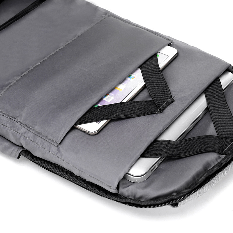 15 inch Laptop Backpack USB Charging Anti Theft Backpack 4