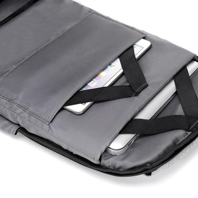 15 inch Laptop Backpack USB Charging Anti Theft Backpack Men Travel Backpack Waterproof School Bag Male Mochila 4
