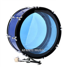 25 inch Blue Afanti Music Bass Drum BAS 1513