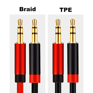 Image 5 - Lungfish AUX Cable Jack 3.5mm Audio Cable 3.5 mm Jack Speaker Cable 1m 2m 3m 5m for iphone Samsung xiaomi Car Headphone Speaker