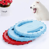 أقراص المطاط الكلب الكلب الطائر لعبة تفاعلية في pet المنتجات جرو مضغ لعبة تدريب pet الاكسسوارات 9A15