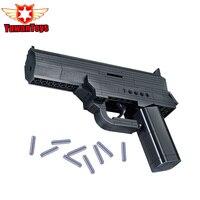 Educational Kids Toys Building Blocks Gun Model Building Kit Assembling Pistol Desert Eagle Kids Assembled Toy