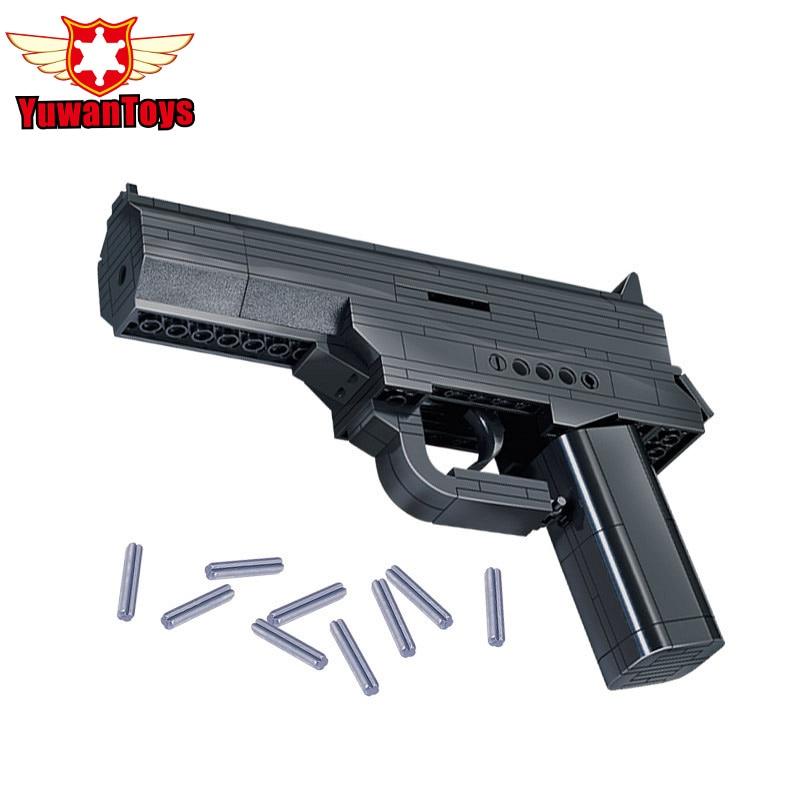 Educational Kids Toys Building Blocks Gun Model Building Kit Assembling Pistol Desert Eagle Kids Assembled Toy Bricks Lbk_qm_055