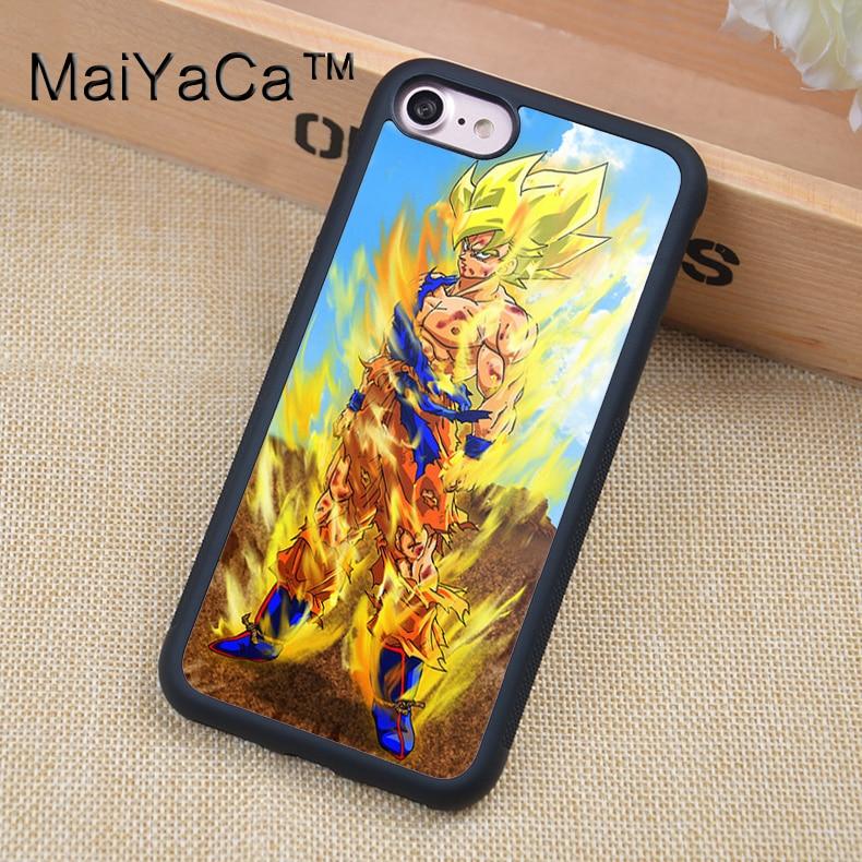 MaiYaCa DRAGON BALL Z GOKU Printed Phone case For iPhone 6
