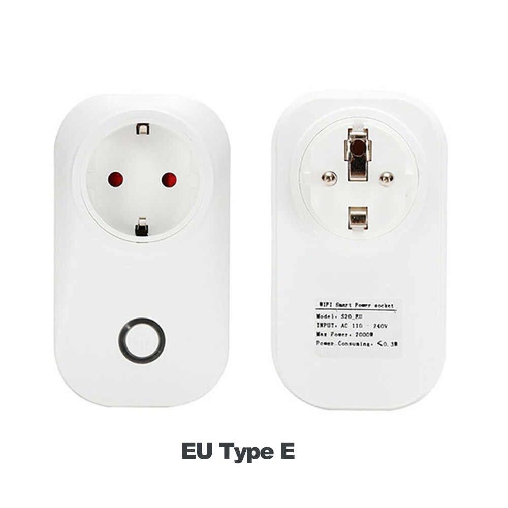 Itead Sonoff S20 inteligentne gniazdo Wifi CN WB USA UE podłącz bezprzewodowy pilot zdalnego wylot przełącznik Wifi współpracuje z Alexa Google Home Assistant