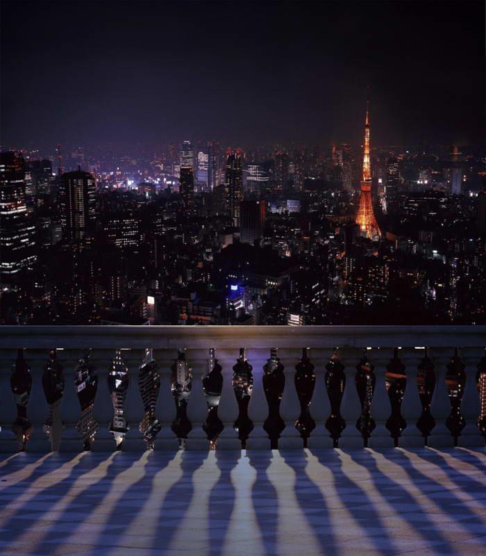 Tr Digital Photo Backdrop Paris Night Backdrop Eiffel -8741
