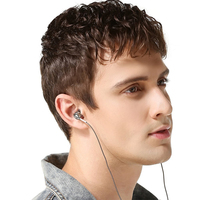 OARIE 3 5mm Metal Earphones Earbud With Microphone Remote Clear Sound Strong Bass In Ear Wired