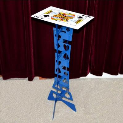 Alluminum alloy Magic Folding Table,blue color,Magician's best table,magic tricks,stage,illusions,Accessories appearing fish for empty tank fishtastic magic tricks illusions card tricks novelties party jokes