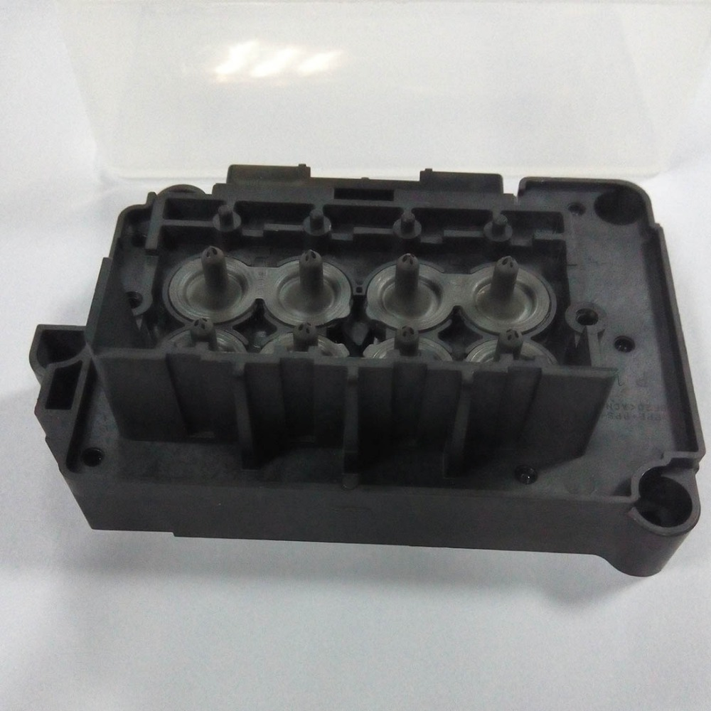 Original Print Head Mainfold Adapter Cover for Epson Stylus Pro B300 B310 B500 B510 R3000 3800 3880 3890 Printer Printhead Cap 1 piece first locked dx7 print head printhead f189010 for epson b310 b510 b318 b518 b300 b500 b308 b508 printer head