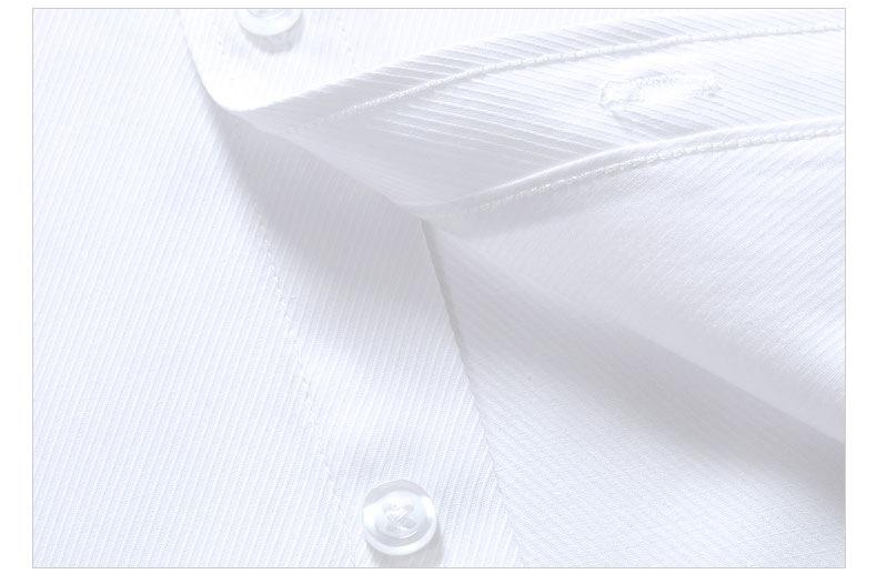 Dudalina 19 Men Casual Long Sleeved Solid shirt Slim Fit Male Social Business Dress Shirt Brand Men Clothing Soft Comfortable 7