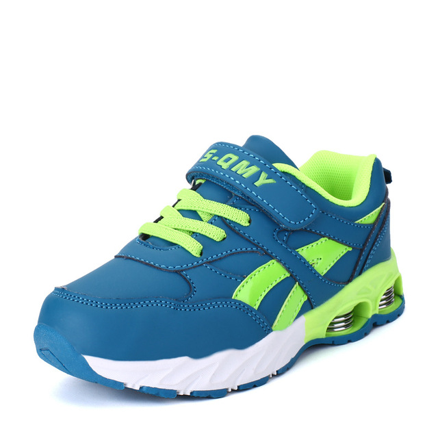 Children Shoes Boys Sport Sneakers 2016 Autumn New Breathable SPORT  Boys Shoes Popular  Running Girls Shoes Size 31-37