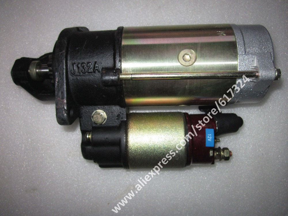 QDJ132A starter motor for Laidong KAMA LL380T the gear reduction type