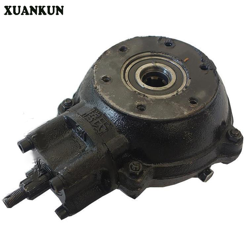 XUANKUN Four - Wheeled Motorcycle Beach Car Accessories Modified Shaft Drive Differential Rear Axle Box Gear Teeth xuankun four rounds of beach car karting modified parts motorcycle rear axle assembly rocker drag three disc brakes