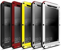 Original LOVE MEI For Huawei Ascend P7 Combo Armor Waterproof Dustproof Shockproof Aluminum Metal Case With