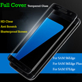 Premium 3D Curved Full Cover Explosion Tempered Glass Screen Film Protector For Samsung Galaxy S6 edge Plus/S6 Edge/S7 Edge