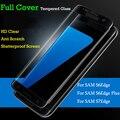 Premium 3d curvada cubierta completa explosión de pantalla de cristal templado film protector para samsung galaxy s6 edge plus/s6 edge/s7 borde