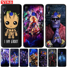 Captain Marvel Groot Raccoon Soft TPU Case For Xiao