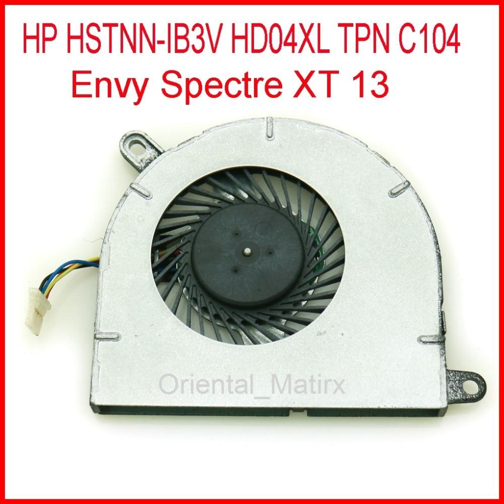Brand New EG50050S1-C010-S9A DC5V 0.4A Cooler Fan For HP HSTNN-IB3V HD04XL TPN C104 Envy Spectre XT 13 CPU Cooler Fan