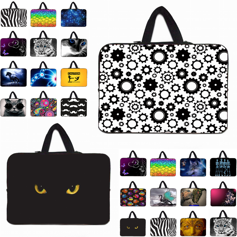 Computer Accessories Neoprene Soft Laptop 10 11 12 13 14 15 17 15.6 13.3 Inch Notebook Chromebook Sleeve Bag Funda Carry Cases