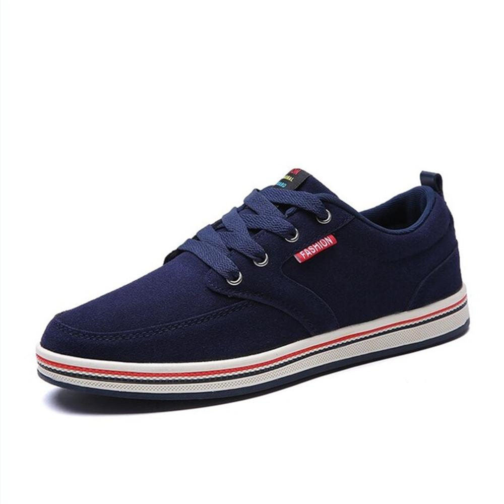 2018 new Big Size Men Casual Shoes Fashion Breathable Brand Male Shoes Large Size Men Flats Shoes Brand Designer Flats Shoes men luxury brand new genuine leather shoes fashion big size 39 47 male breathable soft driving loafer flats z768 tenis masculino