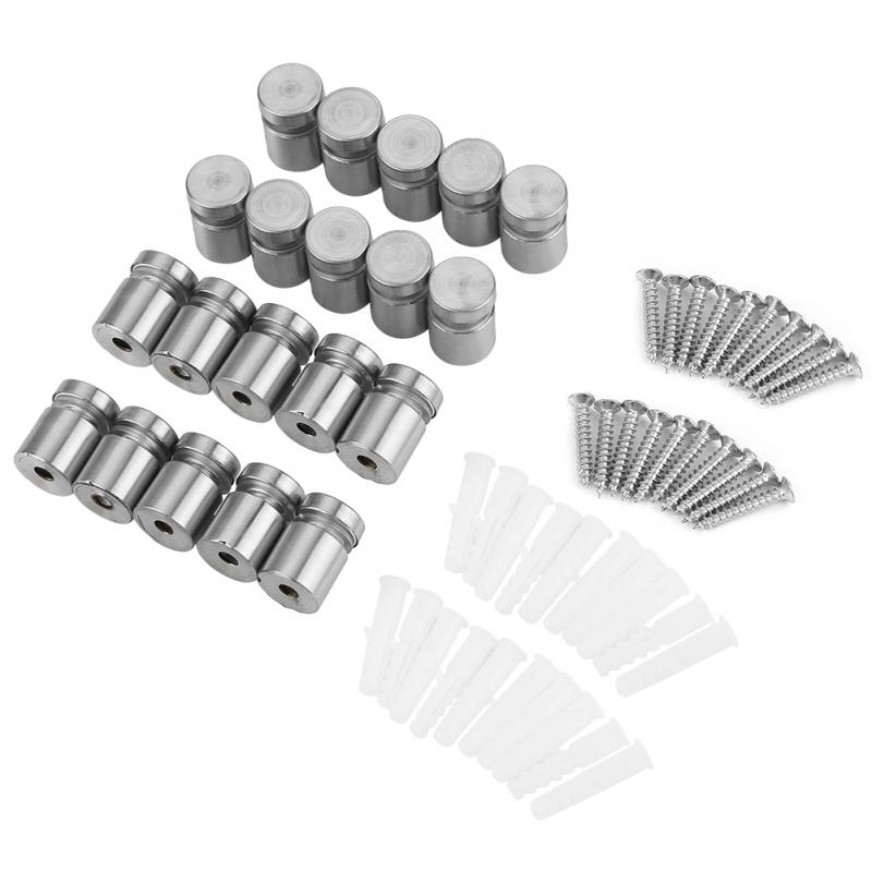 Thread Size #10-16 FastenerParts Rounded Head Thread-Forming Screw for Brittle Plastic 410 Stainless Steel
