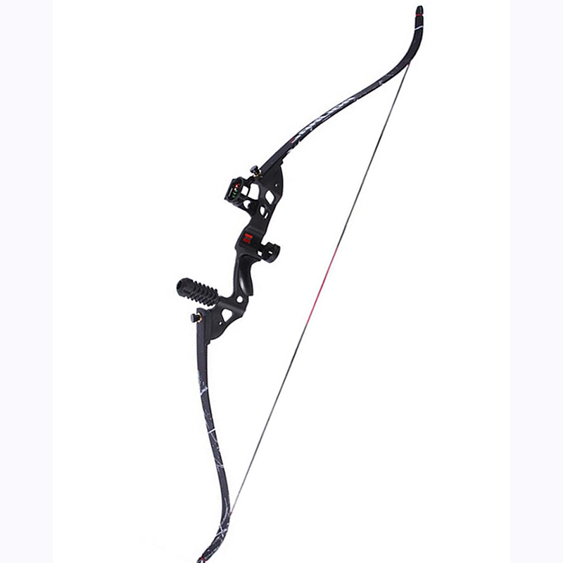 35-45Ibs Shooting Straight Bow wood Composite materials Bow Portable Folding Bows Tools for hunting racing entertainment primary shooting straight