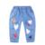 Outono Nova Chegada Crianças Jeans Para Meninos E Meninas de Impressão Calça Casual crianças calças de Brim Do Bebê de Alta Qualidade Crianças Harem Pants calças de brim