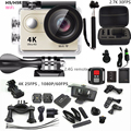 """Action camera H9R Ultra HD 4K 2.0"""" Remote Video camera 170D Angle Sports Camera1080p 60fps Go pro style extra Battery+monopod"""