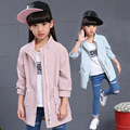 Casual Trench for Girls Jackets Fashion Children Outerwear Kids Sports Coats Windbreaker Infant Autumn Clothing Spring Clothes 8