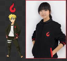Naruto Uzumaki Boruto Fleeces Thicken Jacket