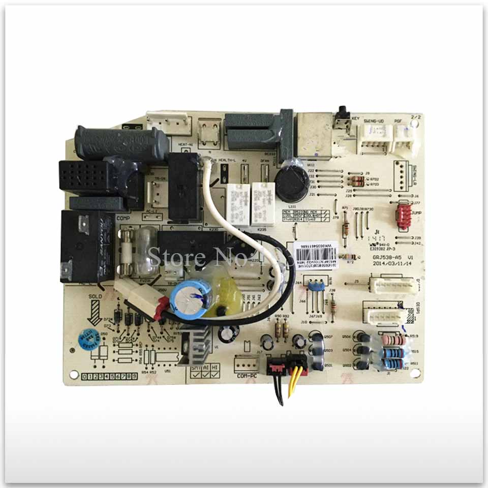good working for Air conditioning computer board circuit board M538F3 GRJ538-A 30145050
