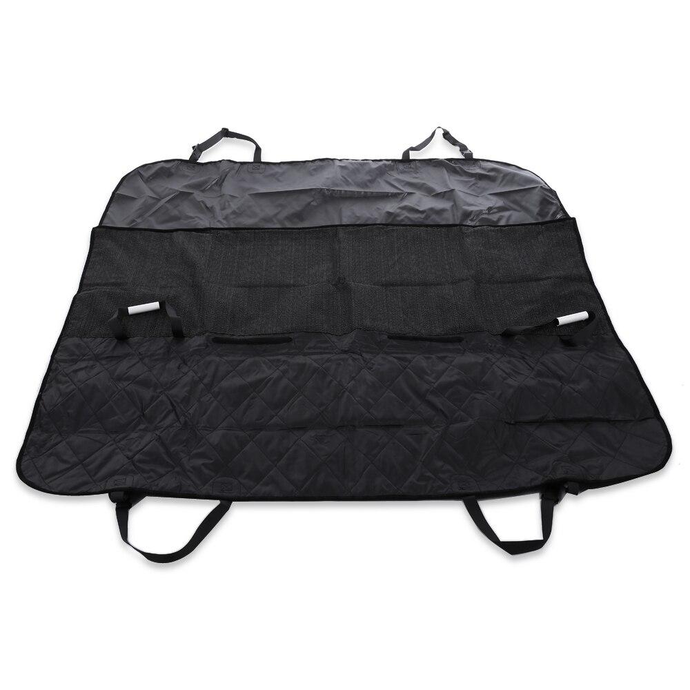 Car Pet Dog Carrier Dog Bag Pet Seat Cushion Rear Bench Back Cover Mat Waterproof Anti-slip Foldable Car Mats Black Hammock #3