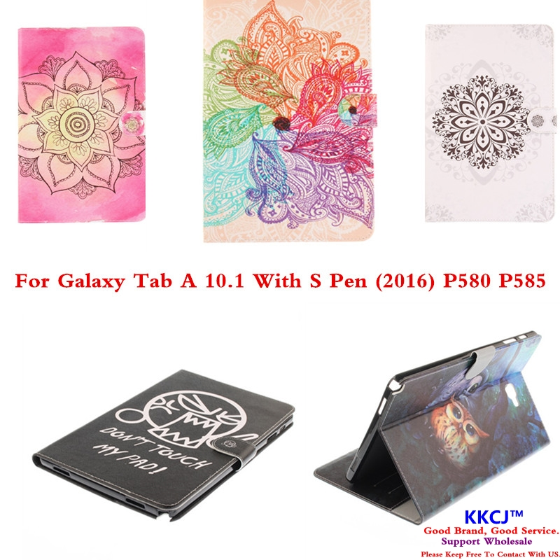TX Fashion PU Leather Protector Case for Samsung Galaxy Tab A 10.1 A6 With S Pen P583 P588C P580 P585 Folio Stand Tablet Cover ultra thin smart flip pu leather cover for lenovo tab 2 a10 30 70f x30f x30m 10 1 tablet case screen protector stylus pen