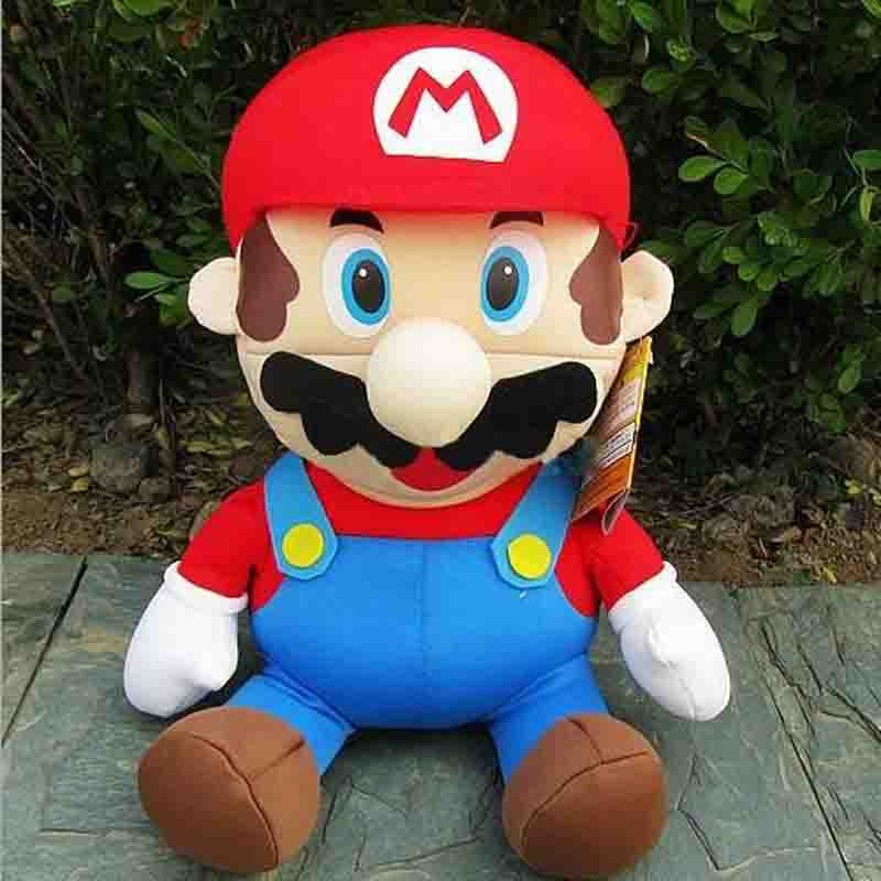 new carton plush toy Super Mario Brother Waluigi Plush Toy for childrens gift