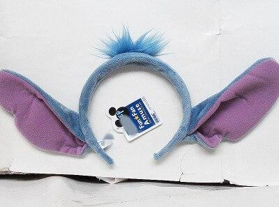 Cute 626 Lilo Stitch Ear Plush Headband Toy Children Adult Cosplay Birthday Gift