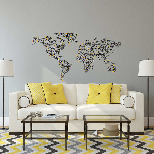 Scratch map wallpaper decals original creative world letters map scratch map wallpaper decals original creative world letters map wall stickers for bedroom living home decorations gumiabroncs Gallery