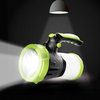 USB Working Lamps Searchlight Built in 2*26650 Torch Portable Lantern Waterproof Hunting Light 6000mAh Led Flashlight Lamp