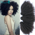 Afro Kinky Curly Virgin Hair Filipino Virgin Hair 3 Bundles 100% Kinky Curly Human Hair Weave Rosa Queen Products Afro Kinky