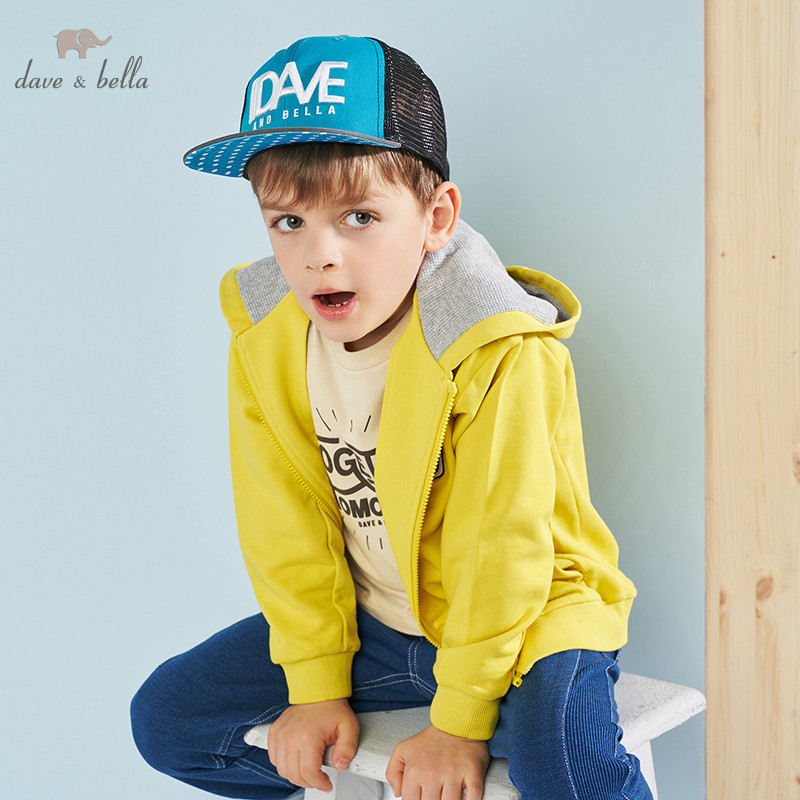 DBK9120 dave bella spring kids boys fashion long sleeve coat children handsome tops high quality outerwearDBK9120 dave bella spring kids boys fashion long sleeve coat children handsome tops high quality outerwear