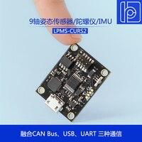 LPMS CURS2 Cable Transmission 9 Axis Attitude Sensor/Gyroscope/IMU Inertial Measurement Module Air Conditioner Parts     -